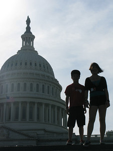 Silhouettes and Our Nation's Capitol