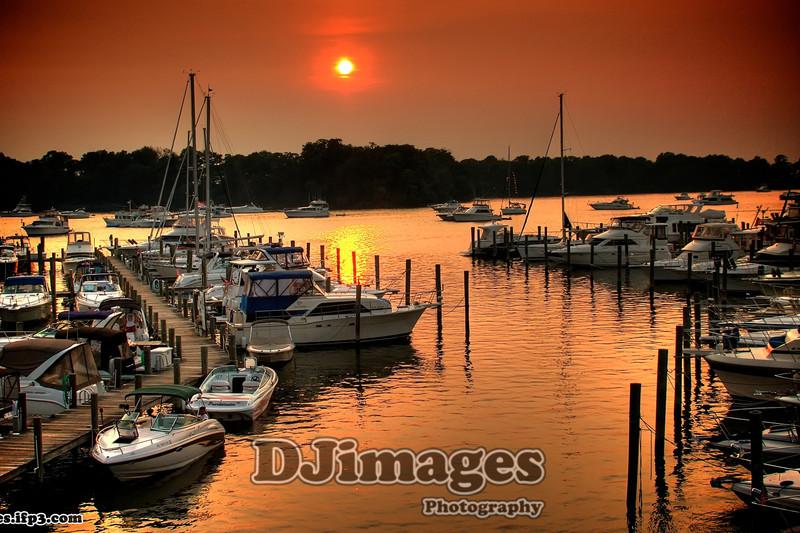Great Oaks Sunset