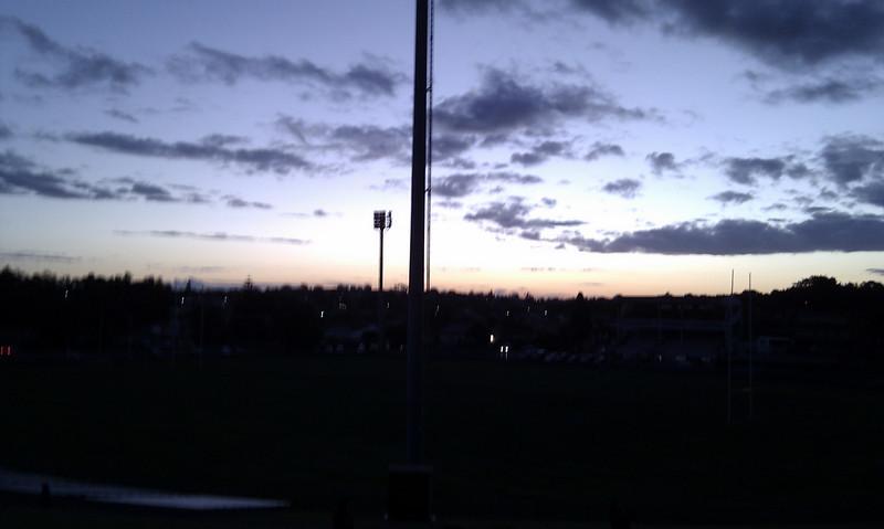 Henson Park sunset