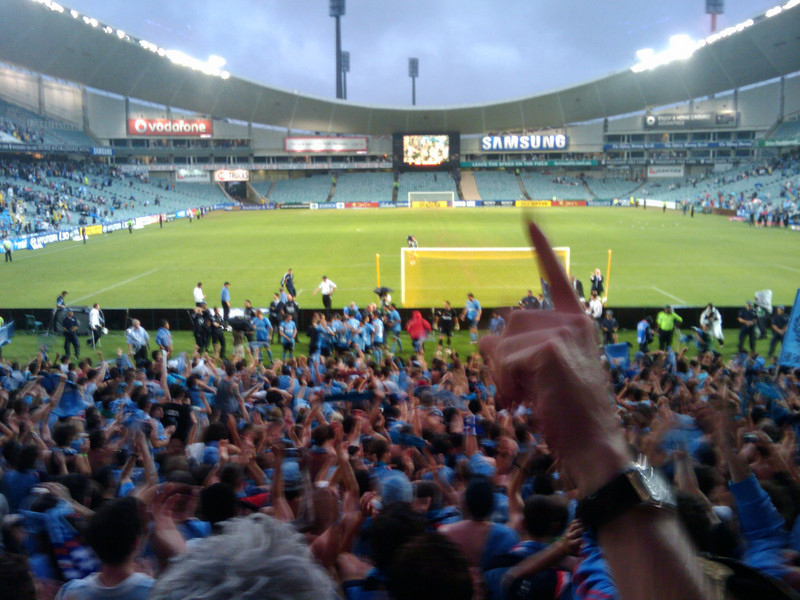 Finally as a Sydney Fc fan we win something! (yes we were in Europe for Season 1)