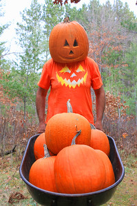 """Pumpkin Head and Family"""