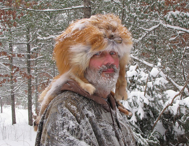 """ Dressed For Winter in Northern Wisconsin ""  Self Portrait"
