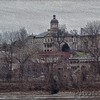 Court House - St. Charles - Painted Carved Wood efffect
