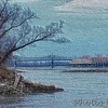 Casino on the Missouri River - Painted Carved Wood efffect