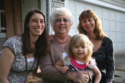 Photos with Grandma Woodmansee