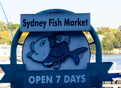 Sydney Fish Market open 7 days