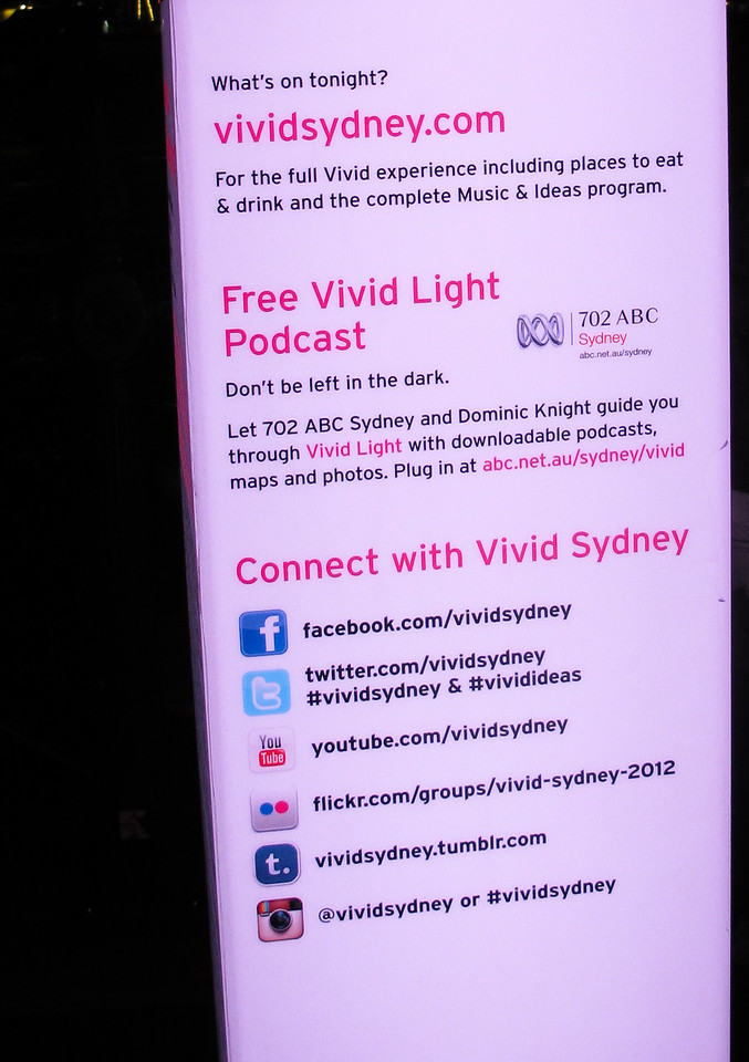 Connect with these properties to know more about Vivid Sydney.