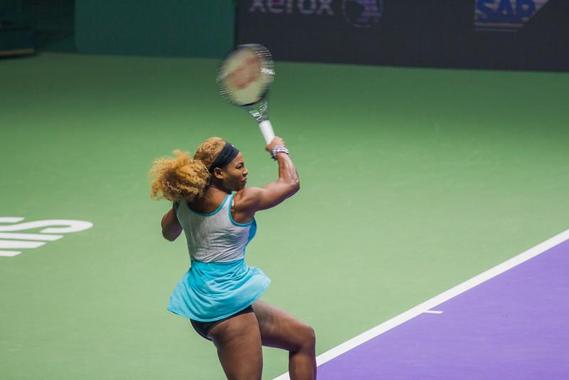 Serena's fitness