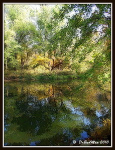 Big Raccoon Creek, Bridgeton, IN.   Oct 2010