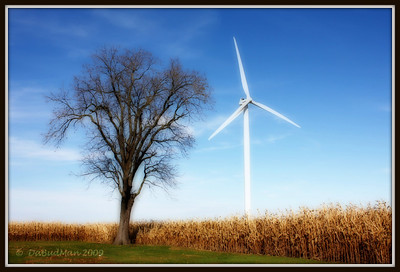 At Meadow Lake Wind Farm in White County Indiana