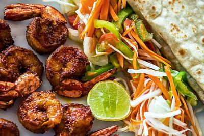 Prawn fry - Kerala style