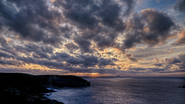 Sunset at Cap Frehel
