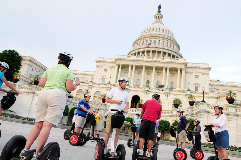 "There was a place in DC called ""Segs in the City"" where you could rent the Segways."