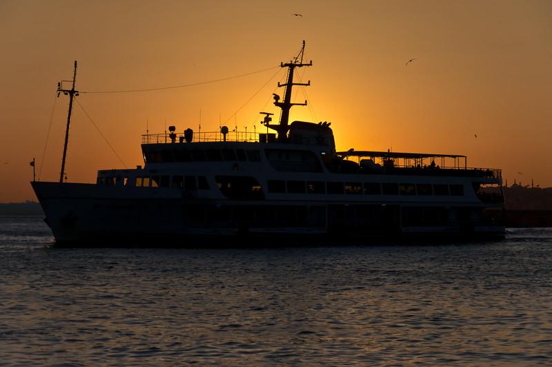 Ferryboat Twilight