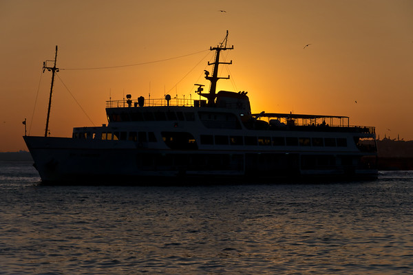 Ferryboat Twilight