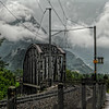 Iron bridge, Unterseen, Interlaken, Berner Oberland, Switzerland; © Joerg Muehlbacher