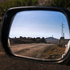 rear view mirror, Paul da Serra, Paul da Serra, Madeira, Portugal; © Joerg Muehlbacher