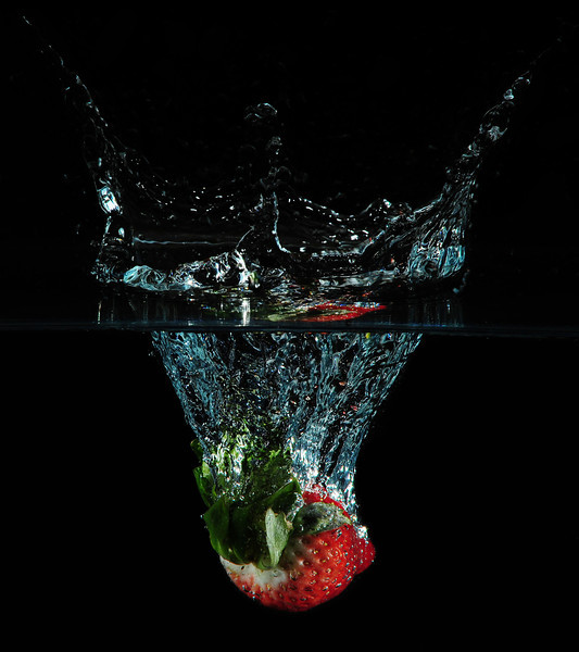 <h3>A Splash of Strawberry</h3>