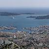 Vue sur port de Toulon