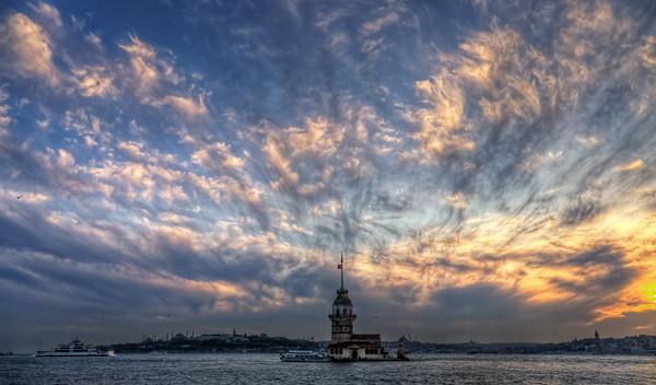 Üsküdar Sunset with Kiz Kulesi