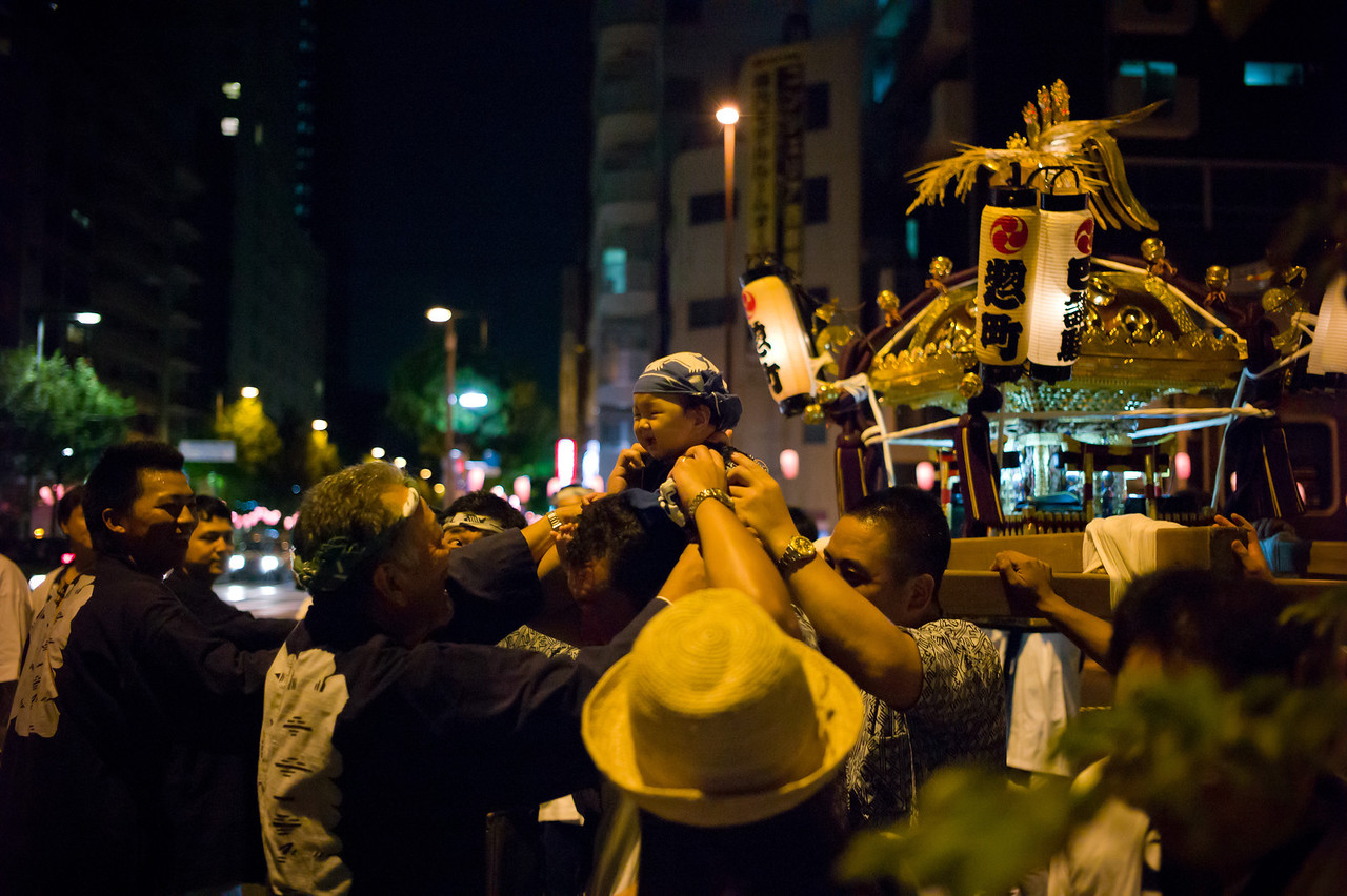 Street festival in Nakano