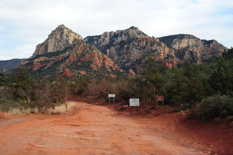 """Schnebly Hill and the Ford Focus-unfriendly Schebly Hill Road. Both named after Carl Schnebly, who arrived at Oak Creek in 1900. He named the town after his wife Sedona, but only after discovering """"Schnebly Station"""" was too long for the post office."""