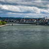 Cloudy Basel, Panorama, Basel, Basel-Stadt, Switzerland; © Joerg Muehlbacher