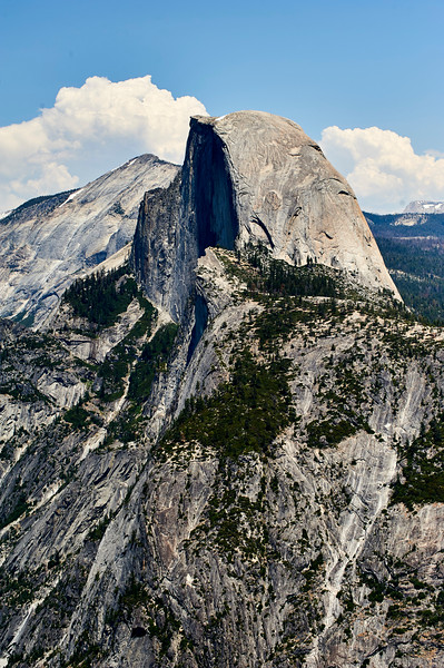 Half Dome in Yosemite National Park.