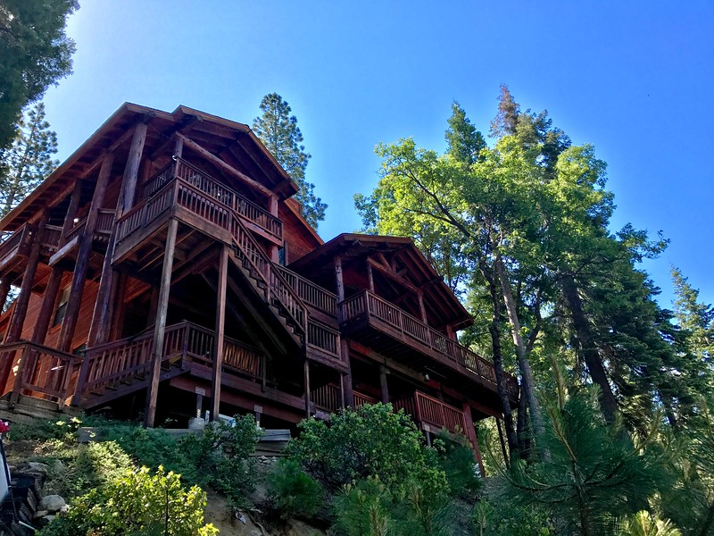 Yosemite High Sierra Bed & Breakfast, our home for a few days.