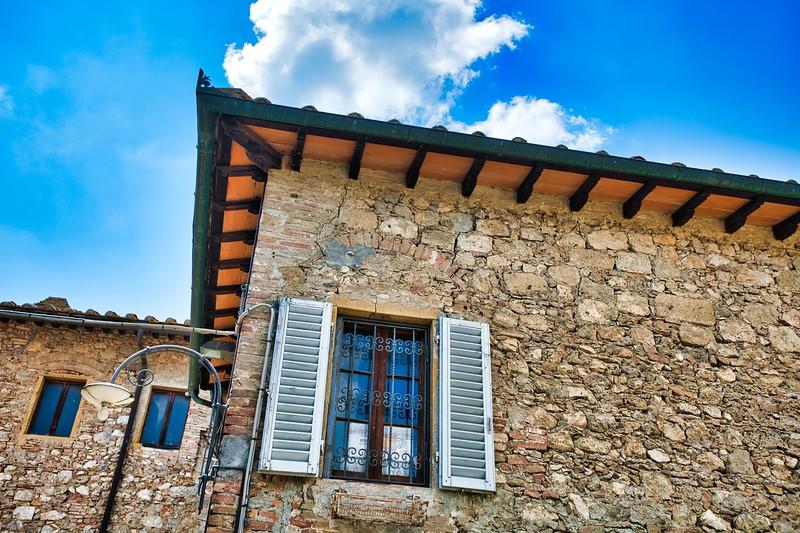 The Fattoria San Donato farm/winery in Tuscany.
