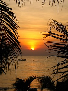 view from the phu quoc bungalow