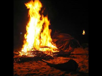 christmas eve bonfire #2