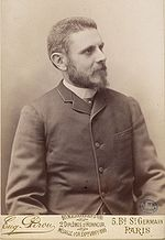 Pierre Marie (1853-1940)<br /> <br /> A French neurologist and native of Paris who after finishing medical school started as an intern under the famous neurologist Jean-Martin Charcot, worked through the ranks, and eventually was appointd to the chair of neurology at the Faculty of Medicine from 1917-1925. One of Marie's early contributions was a description of a disorder of the pituary gland known as acromegaly which was an important contribution in the emerging field of endocrinology.