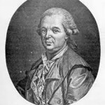 Franz Anton Mesmer (1734-1815)<br /> <br /> A German physician with a disctinct interest in astronomy who theorized that there was a natural energetic transferrence between all animate and inanimate objects. As a physician, Mesmer understood health as the free flow of the process of life through thousands of channels in our bodies. When treating patients he would sit with his knees touching their knees, pressing the patients thumbs into his palms, looking fixedly into the patients eyes and making 'passes' that supposedly could bring about a cure.