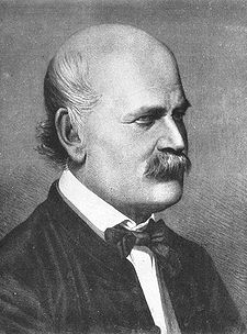 Ignaz Philipp Semmelweis (1818-1865)<br /> <br /> A Hungarian physician no known as an early pioneer of antiseptic procedures who discovered that the incidence of puerperal fever could be drastically reduced by the use of hand disinfection in obstetrical clinics. However, Semmelweis' observations conflicted with medical opinion at that time and many doctors were offended at the suggestion of washing their hands.