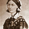 Florence Nightingale (1820-1910)<br /> <br /> An English nurse, writer and statistician who came to prominence for her pioneering work during the Crimean War where she tended to wounded soldiers. She laid the foundation for professional nursing by establishing a nursing school at St. Thomas' Hospital in London in 1860. The Nightingale Pledge is taken by new nurses in her honor and the annual International Nurses Day is celebrated on her birthday.