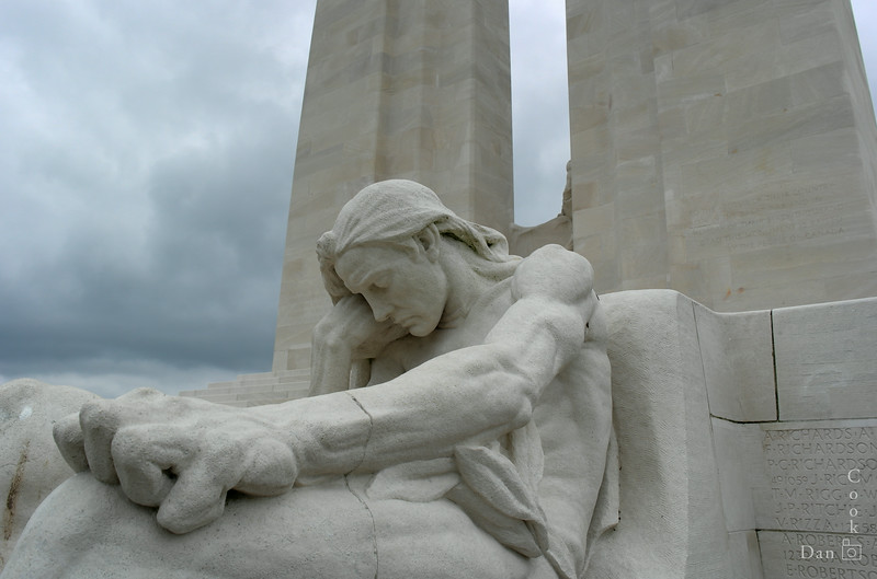 Vimy Ridge Monnument in Vimy, France