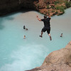 Me cliff jumping Havasu Grand Canyon