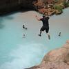 Me cliff jumping Havasu Grand Canyon