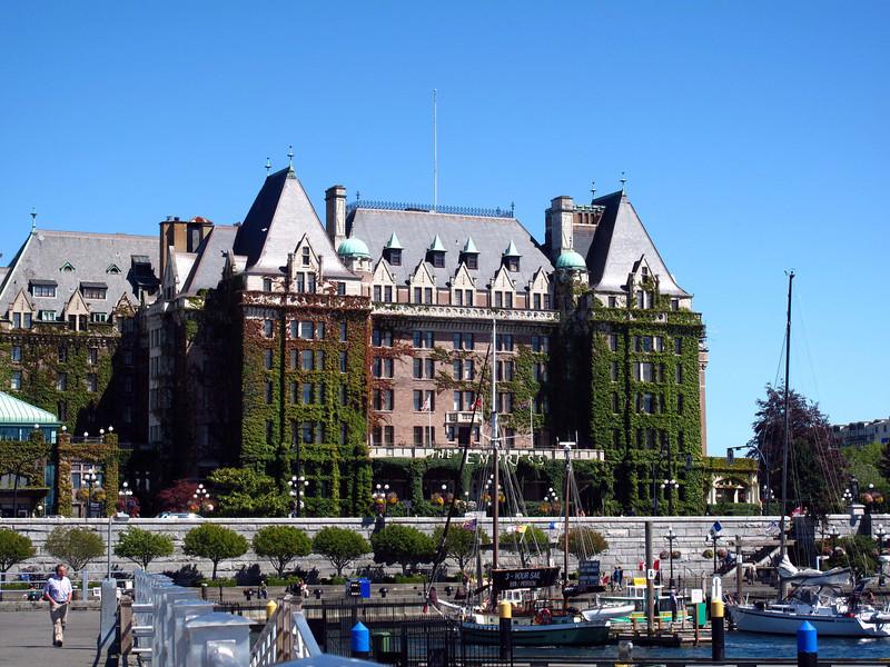 Empress Hotel in Victoria, BC