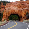 Tunnel at red Canyon