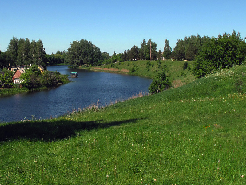 River near Marijampole Lithuania