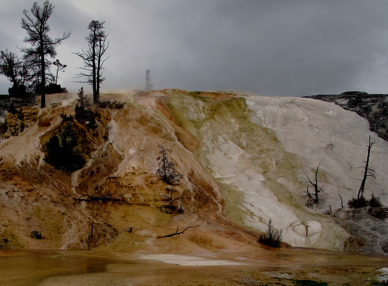 Devils Thumb<br /> Yellowstone National Park, Wyoming.