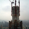 This soon will be the tallest building in Shanghai China.