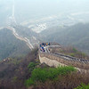 Once you go up this is the way back down. :)<br /> Great wall of China.