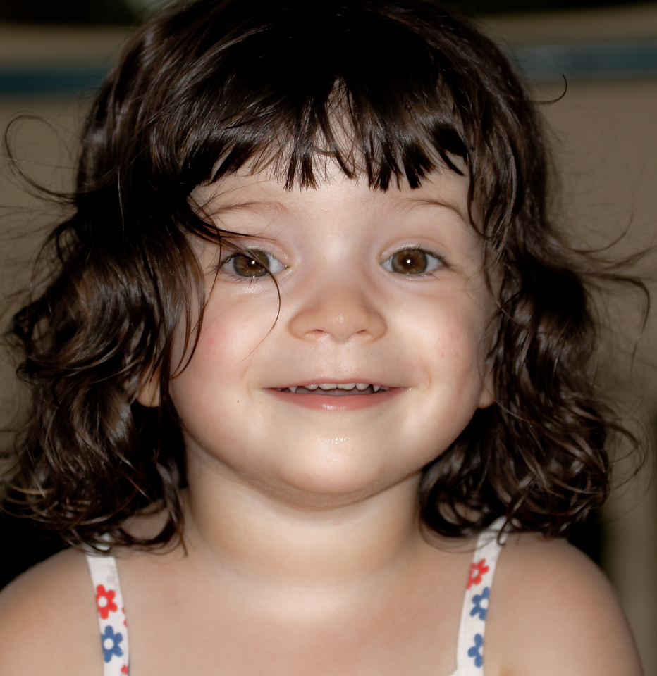 """July 3<br /> <br /> Arwen, little friend, I enjoyed seeing you and your brother and mom. Although your favorite words were """"no"""" and """"can't"""" we had a good time. Come back anytime, cutie-pie!"""
