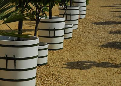 Plant pots, Hampton Court
