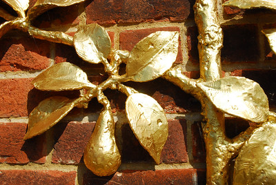 Wall detail, Hampton Court
