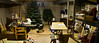 Here's the basement mess.  A small panorama of my messy work area.  This is a before picture - I plan to show an improvement.