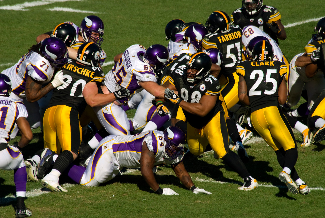 Steelers versus Vikings, Heinz Field, October 26, 2009